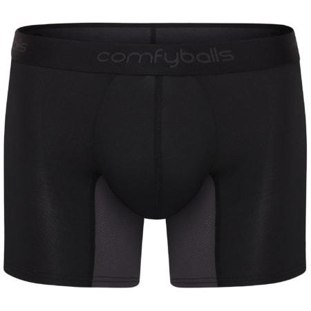 Comfyballs Long Black Charcoal Hybrid Performance
