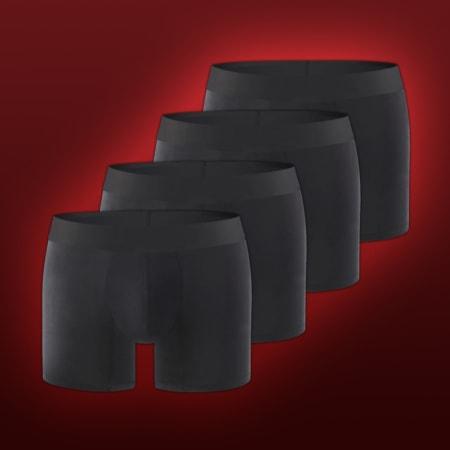 4 x No-Show Cotton Black